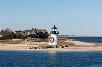 Brant Point Lighthouse with  Wreath_0087  (CH)