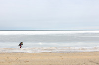 Child Playing in Frozen Nantucket Sound_9080 (CH)