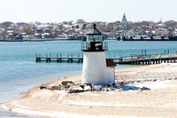 Brant Point Lighthouse in Snow (CH)