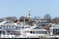 Nantucket Yacht Club and First Congregational Church (CH)